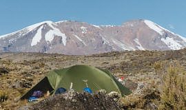 Kili tents Shira
